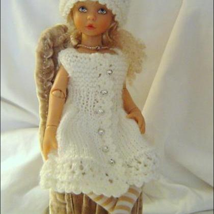 Knitting Patterns For 13 Inch Dolls : 0046 4PC Little Darlings Miniature Knitting And Crochet ...